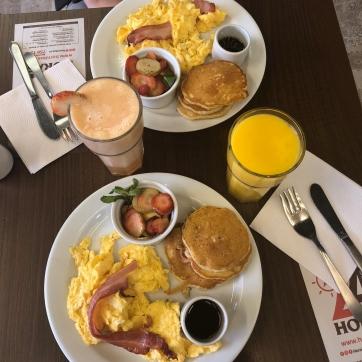 Desayuno gringo